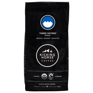 Kicking Horse Coffee 10-oz. Three Sisters Medium Roast for $5