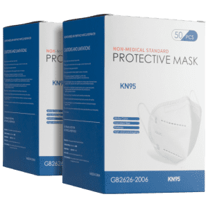 KN95 Non-Medical Face Mask 100-Pack for $22