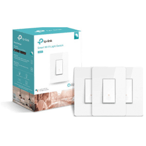 TP-Link Kasa Smart WiFi Switch 3-Pack for $35