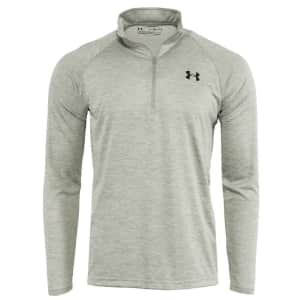 Under Armour Men's UA Tech Space Dye 1/2 Zip Pullover for $23