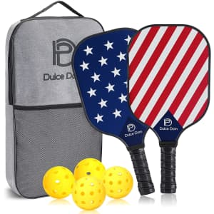 Dulce Dom Lightweight Pickleball Paddle Set for $42