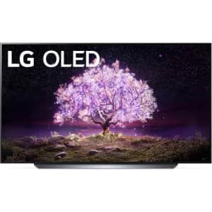 """LG C1 OLED48C1PUB 48"""" 4K HDR OLED UHD Smart TV for $1,102"""