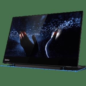 "Lenovo ThinkVision M14t 14"" 1080p Touch USB-C Mobile LED Monitor for $316"