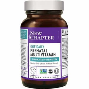 New Chapter Prenatal Vitamins Prenatal Multivitamin with Methylfolate + Choline for Healthy Mom for $20