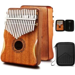 Mifoge Kalimba 17-Key Thumb Piano for $20