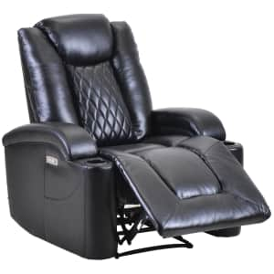 Merax Power Recliner w/ USB & Cup Holders for $509