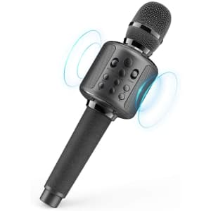 GOODaaa Wireless Karaoke Microphone for $34