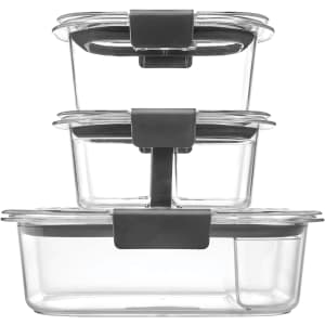 Rubbermaid Brilliance 10-Pc. Food Storage Container Set for $13