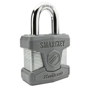 Kwikset Smartkey Padlock for $16
