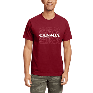Eddie Bauer Men's Canada Vibes Graphic T-Shirt for $12