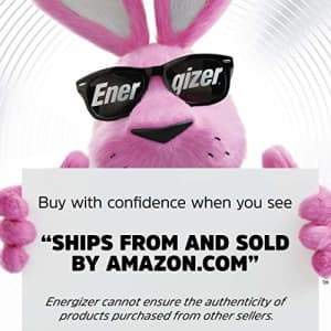 Energizer Ultimate Lithium AA Batteries, World's Longest Lasting Battery for High-Tech Devices (4 for $9