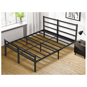 Banggood Steel Slat Full Bed Frame for $110