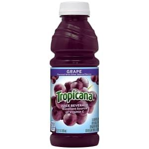 Tropicana Grape Juice 15.2-Oz. Bottle 12-Pack for $31