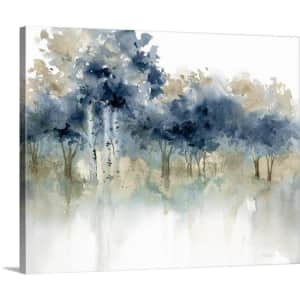 """GreatBigCanvas """"Waters Edge I"""" 30"""" x 24"""" Canvas Wall Art for $52"""