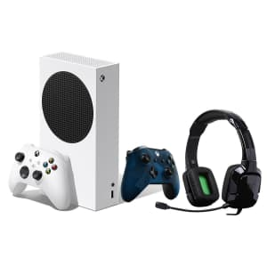 Microsoft Xbox Series S 512GB Console Bundle for $400 for members