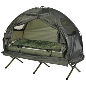 Outsunny Deluxe 4-in-1 Compact Folding Shelter Tent for $115