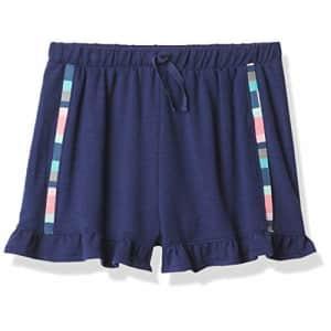 Splendid Girls' Cargo Shorts, Dark Surf, 10 for $27