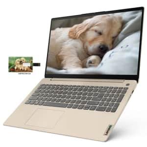 "Newest Lenovo IdeaPad 3 15 Business Laptop Computer, AMD Ryzen 5 5500U, 15.6"" FHD Display, 12GB for $579"