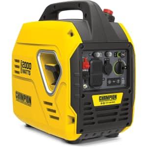 Champion 2000W Ultralight Portable Inverter Generator for $418