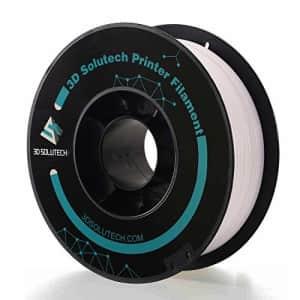 3D Solutech Real White 3D Printer Premium PLA Filament 1.75MM Filament, Dimensional Accuracy +/- for $21