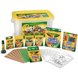 Crayola Super Art Coloring Kit for $25