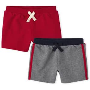 The Children's Place Toddler Boys French Terry Shorts 2-Pack, Multi CLR, 5T for $14