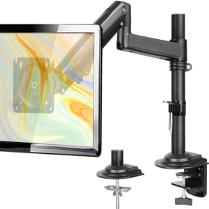 ErGear Single Monitor Desk Mount for $37
