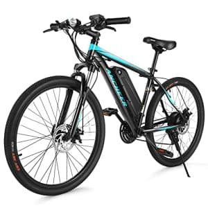 ANCHEER Electric Bike Commuter EBike 350W 26'' Electric Mountain Bicycle, 20MPH Adults Ebike with for $700