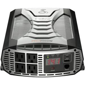 Cobra 2,500W Portable Power Inverter for $300