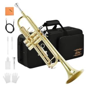 Eastar Standard Bb Student Trumpet Set for $91