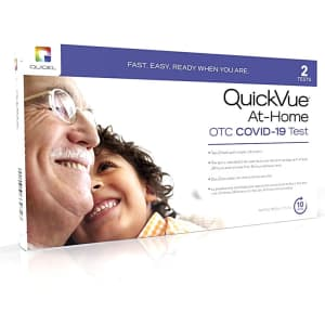 Quidel Covid-19 OTC At-Home Test Kit for $25