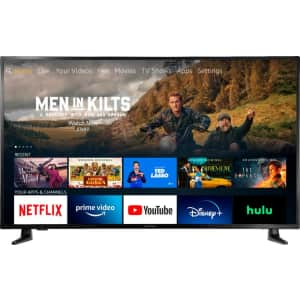 "Insignia F30 55"" LED 4K UHD Smart Fire TV (2021) for $400"