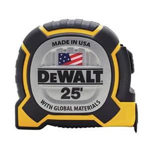 DEWALT DWHT36225S 25FT Tape Measure for $30