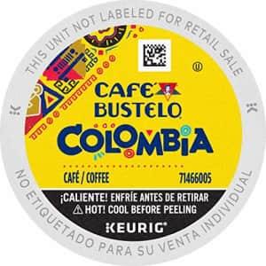 Cafe Bustelo Caf Bustelo 100% Colombian Medium Roast Coffee, 72 Keurig K-Cup Pods for $49