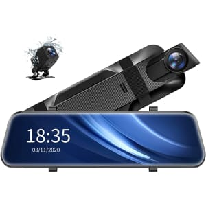 "ViviLink VX510 2.5K 10"" Mirror Dash Cam for $100"