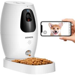 Hongsa Pet Camera & Treat Dispenser for $130