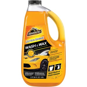 Armor All 64-oz. Ultra Shine Wash and Wax for $5