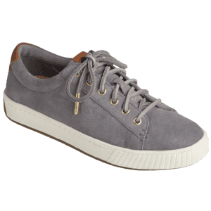 Sperry Women's Anchor Plushwave Suede Sneakers for $40