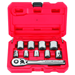 """Craftsman 6-Point 3/8"""" Socket Wrench Set for $9.99 for Ace Rewards Members"""