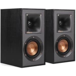"""Klipsch 4"""" Bookshelf Speaker Pair for $98"""