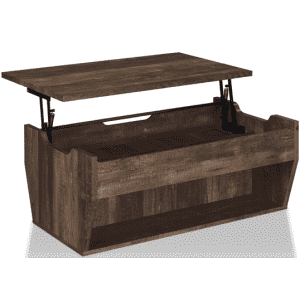"""Furniture of America Anthem 42"""" Storage Coffee Table for $214"""