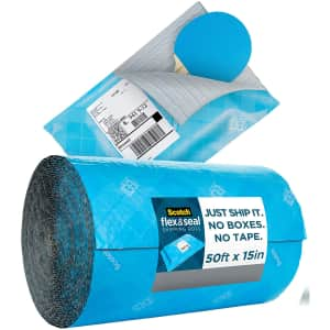 Scotch Flex and Seal 50ft. Shipping Roll for $15