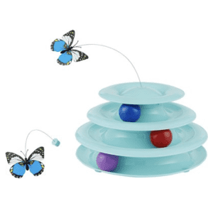 Frisco Cat Tracks Butterfly Cat Toy for $10