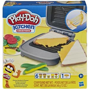 Play-Doh Kitchen Creations Cheesy Sandwich Playset for $9