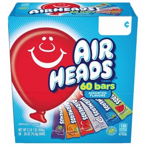 Airheads Candy Bar Variety 60-Pack for $6.38 via Sub. & Save