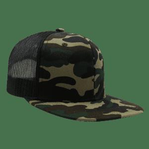 Men's Snapback Trucker Hat: 3 for $18 in cart