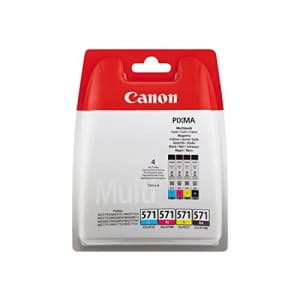 Canon CLI-571 Black, Cyan, Magenta, Yellow Ink Cartridge for $55