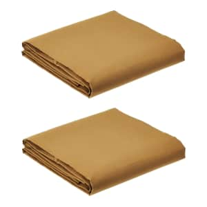 AmazonCommercial 6x8-Foot Canvas Tarp 2-Pack for $41