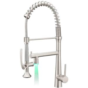 Aimadi LED Pull Down Kitchen Faucet with Sprayer for $146