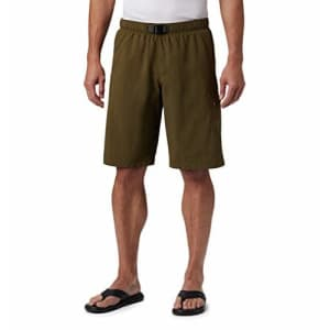 Columbia Men's Palmerston Peak Short, Waterproof, UV Sun Protection, New Olive, Small x 11 for $35
